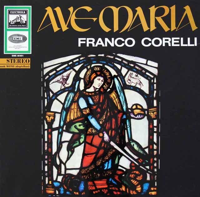 コレッリの「アヴェ・マリア」 独ELECTROLA 3326 LP レコード