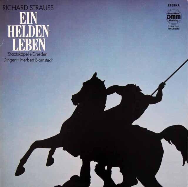 ブロムシュテットのR.シュトラウス/「英雄の生涯」 独ETERNA 3326 LP レコード