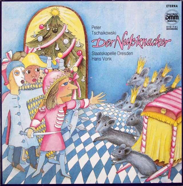 フォンクのチャイコフスキー/バレエ音楽「くるみ割り人形」 独ETERNA 3326 LP レコード