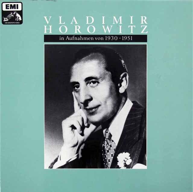 ホロヴィッツ/EMIレコーディングス1930~1951 独EMI 3326 LP レコード