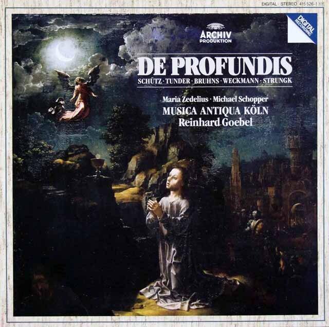 ムジカ・アンティクヮ・ケルンのドイツ・バロックのカンタータ集 独ARCHIV 3326 LP レコード