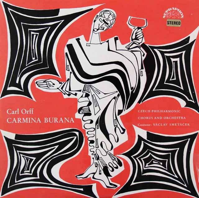 スメターチェクのオルフ/カルミナ・ブラーナ チェコスロヴァキアSUPRAPHON 3326 LP レコード