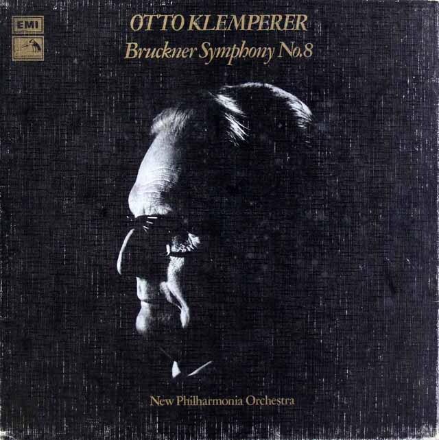 【オリジナル盤】 クレンペラーのブルックナー/交響曲第8番 英EMI 3326 LP レコード