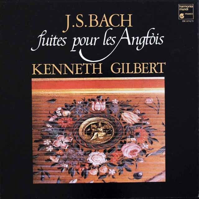 ギルバートのバッハ/イギリス組曲(全曲) 仏HM 3326 LP レコード