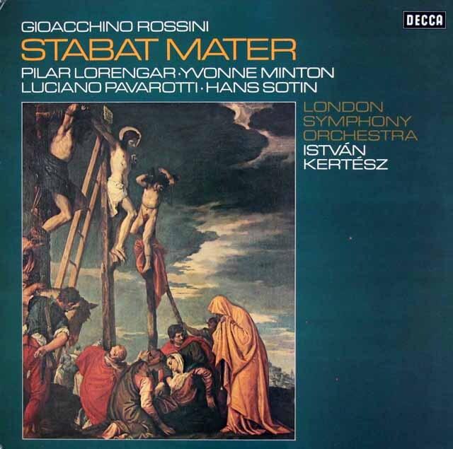 ケルテスのロッシーニ/「スターバト・マーテル」 独DECCA 3327 LP レコード