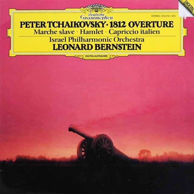 バーンスタインのチャイコフスキー/大序曲「1812年」ほか 独DGG 3327 LP レコード