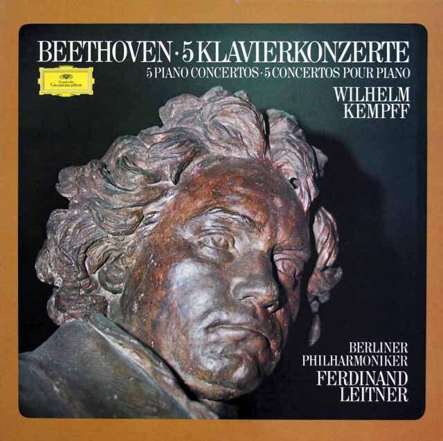 ケンプのベートーヴェン/ピアノ協奏曲全集  独DGG  3327 LP レコード