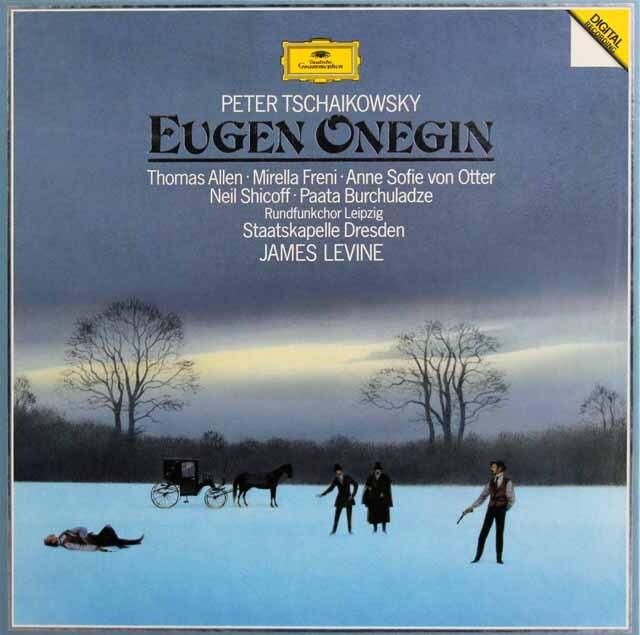 レヴァインのチャイコフスキー/「エフゲニ・オネーギン」全曲  独DGG  3327 LP レコード