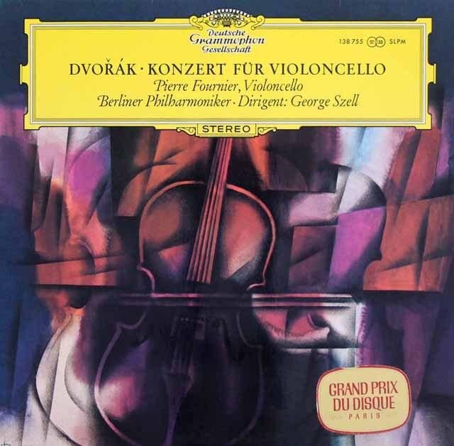 フルニエ&セルのドヴォルザーク/チェロ協奏曲  独DGG 3327 LP レコード