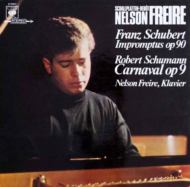 フレイレのシューベルト/4つの即興曲 作品90ほか 独CBS  3327 LP レコード