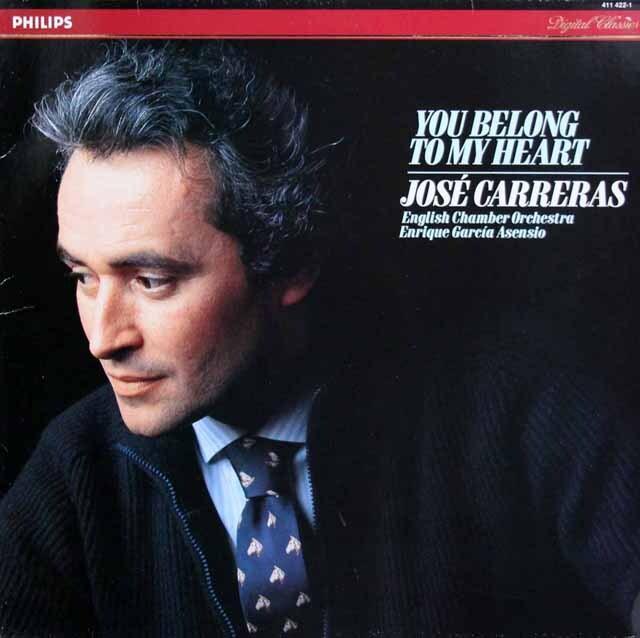 カレーラスの「ユー・ビロング・トゥ・マイ・ハート」 蘭PHILIPS 3327 LP レコード