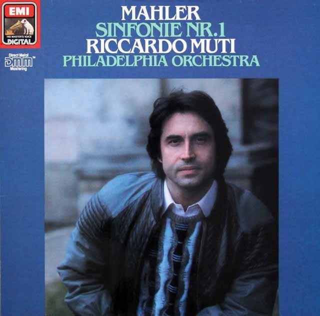 ムーティのマーラー/交響曲第1番「巨人」 独EMI 3327 LP レコード