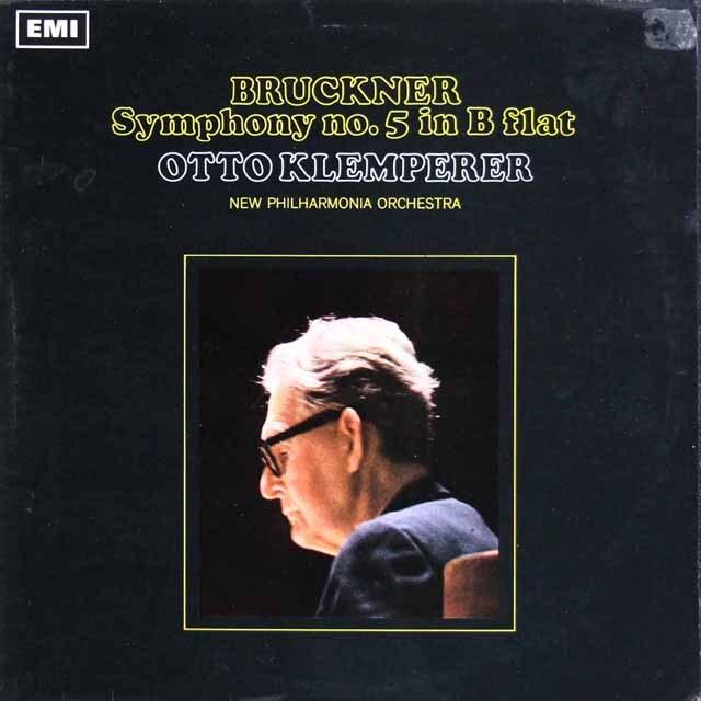 【オリジナル盤】 クレンペラーのブルックナー/交響曲第5番 英EMI 3327 LP レコード