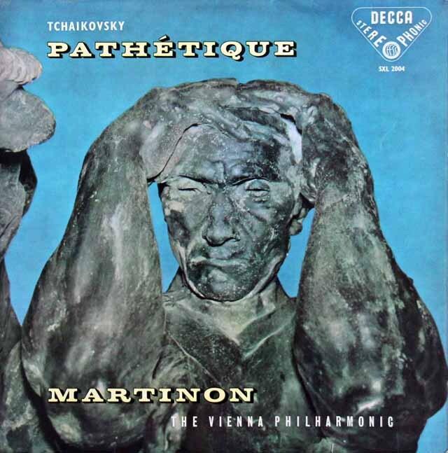 【オリジナル盤】 マルティノンのチャイコフスキー/交響曲第6番「悲愴」 英DECCA 3327 LP レコード