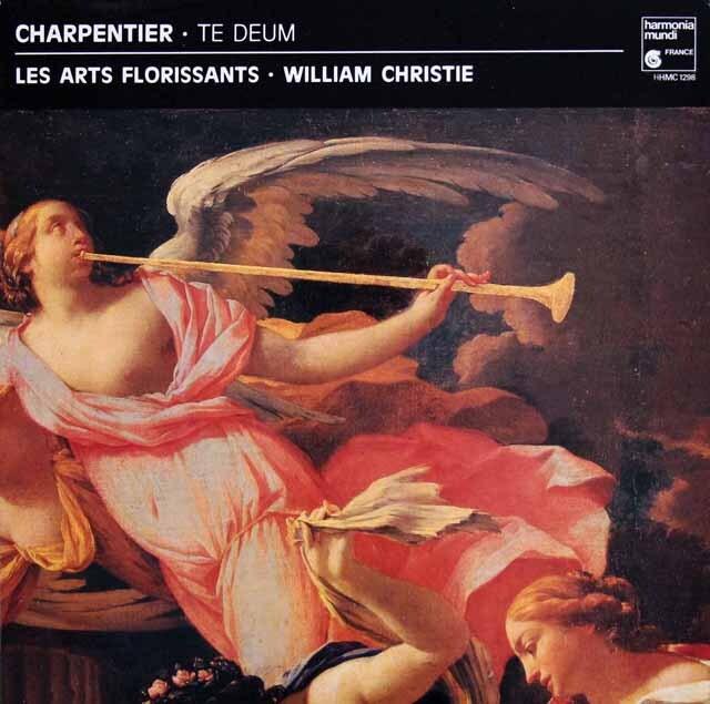 クリスティのシャルパンティエ/「テ・デウム」ほか 仏HM 3327 LP レコード
