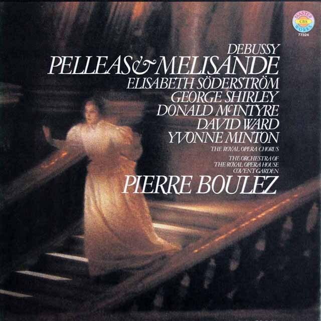 ブーレーズのドビュッシー/「ペレアスとメリザンド」全曲 独CBS 3327 LP レコード