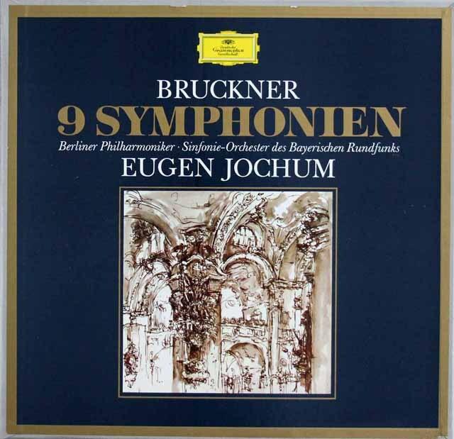 ヨッフムのブルックナー/交響曲全集(第1番~9番) 独DGG 3327 LP レコード