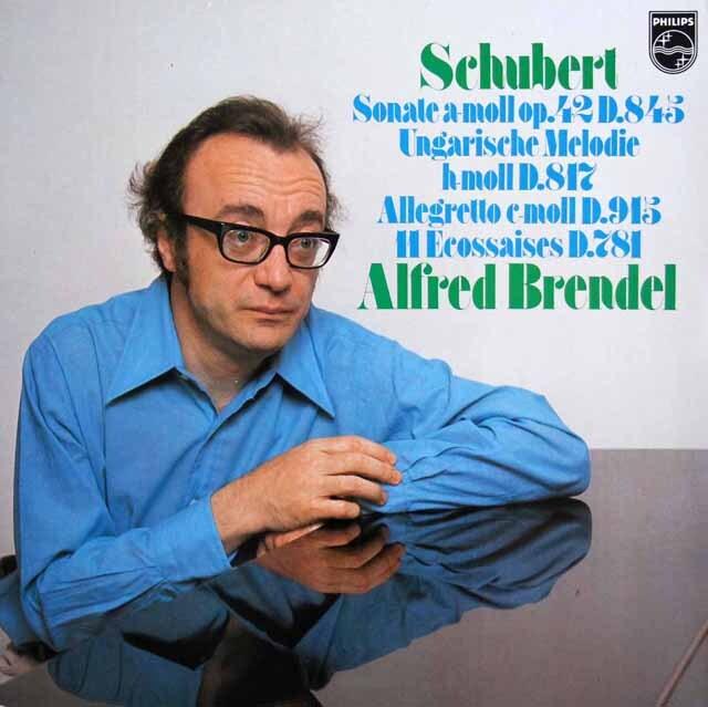 ブレンデルのシューベルト/ピアノソナタ第16番ほか 蘭PHILIPS 3328 LP レコード