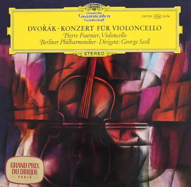 フルニエ、セルのドヴォルザーク/チェロ協奏曲 独DGG 3328 LP レコード