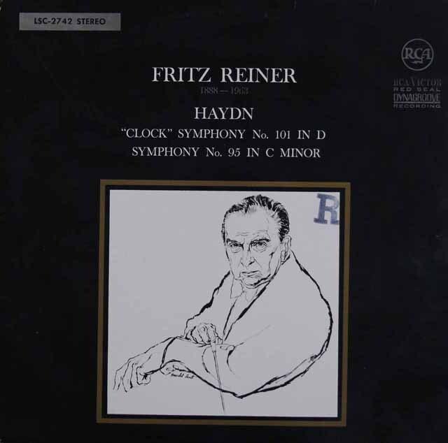 ライナーのハイドン/交響曲第101番「時計」ほか 独RCA 3328 LP レコード