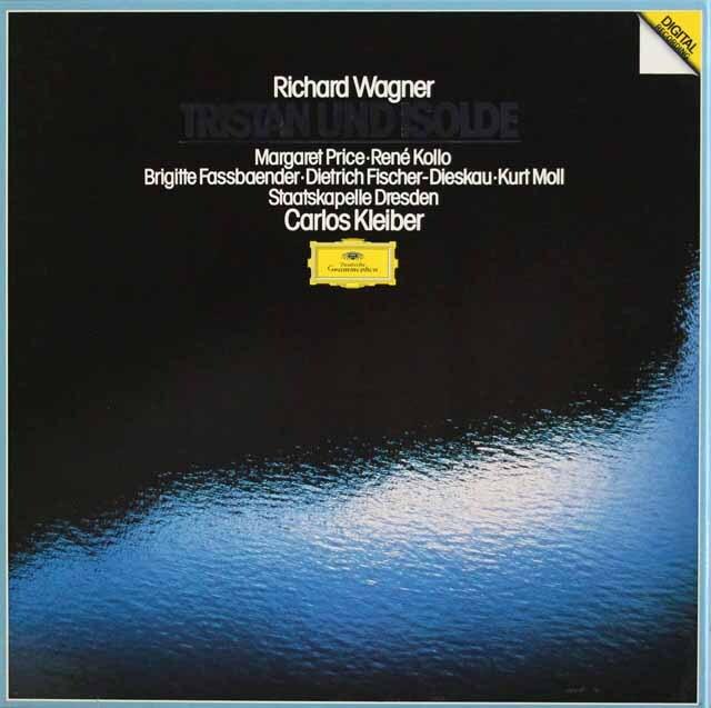 クライバーのワーグナー/「トリスタンとイゾルデ」全曲 独DGG 3328 LP レコード