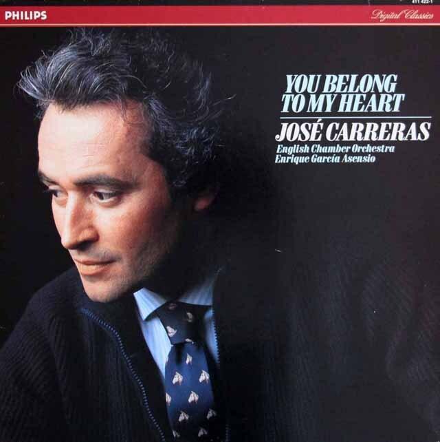 カレーラスの「ユー・ビロング・トゥ・マイ・ハート」 蘭PHILIPS 3329 LP レコード