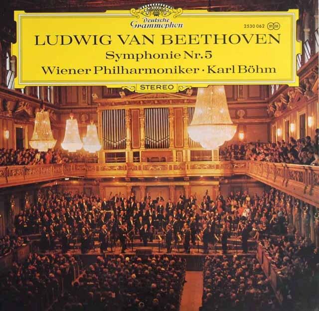ベームのベートーヴェン/交響曲第5番「運命」 独DGG 3329 LP レコード