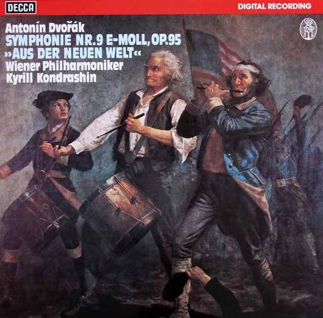 コンドラシンのドヴォルザーク/交響曲第9番「新世界より」 独DECCA 3329 LP レコード