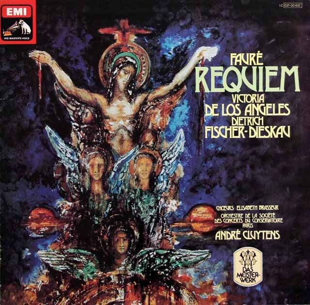 クリュイタンスのフォーレ/「レクイエム」 独EMI 3329 LP レコード
