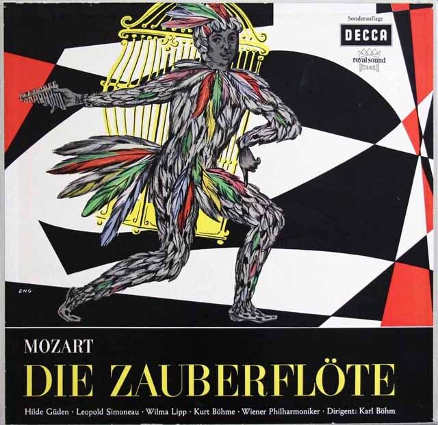 ベームのモーツァルト/「魔笛」全曲 独DECCA 3329 LP レコード
