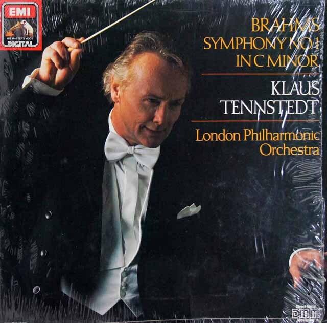テンシュテットのブラームス/交響曲第1番 独EMI 3329 LP レコード