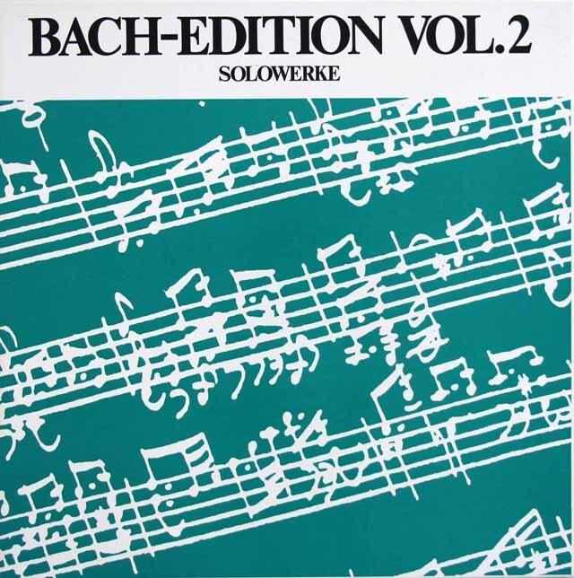 タヘツィのバッハ/フーガの技法ほか独奏曲集 独TELEFUNKEN 3331 LP レコード