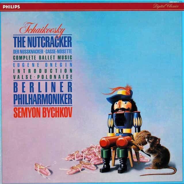 ビシュコフのチャイコフスキー/「くるみ割り人形」全曲 蘭PHILIPS 3331 LP レコード