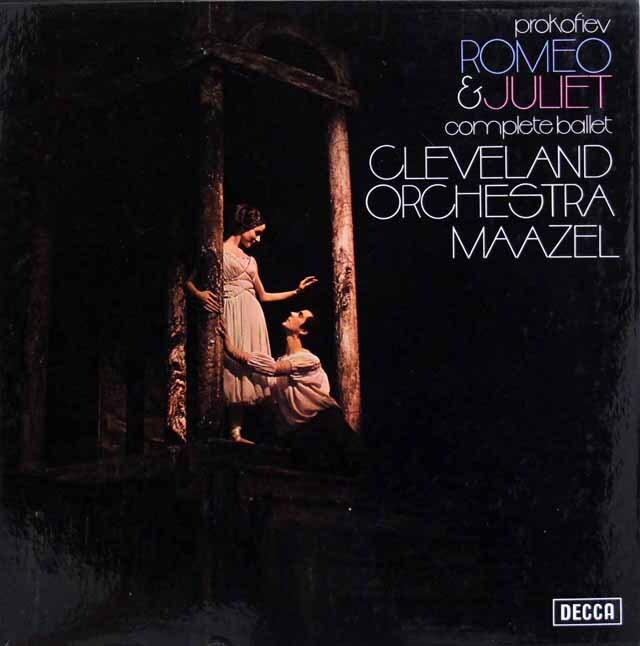 【オリジナル盤】 マゼールのプロコフィエフ/「ロメオとジュリエット」 英DECCA 3331 LP レコード