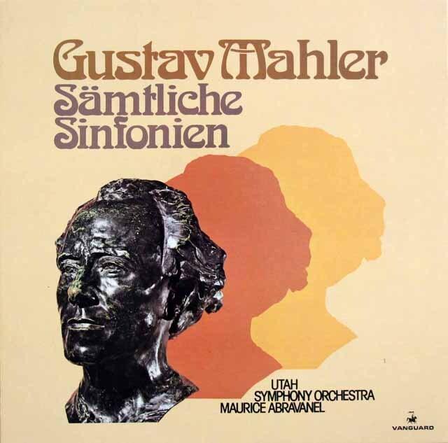 アブラヴァネルのマーラー/交響曲全集 独VANGUARD 3331 LP レコード