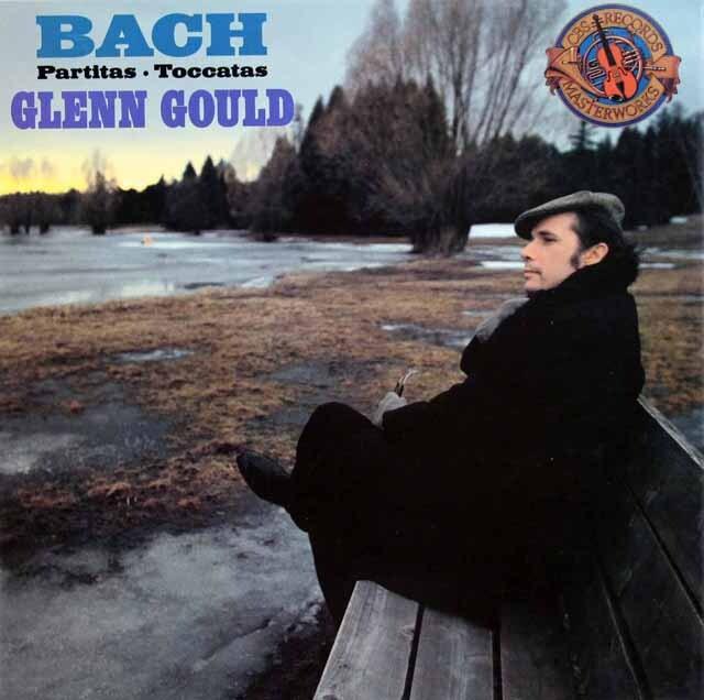 グールドのバッハ/パルティータとトッカータ集 独CBS 3332 LP レコード