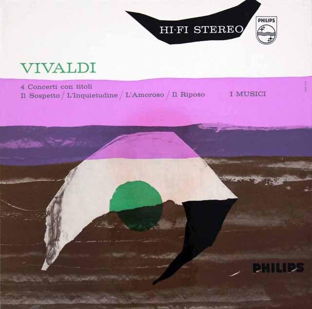 【オリジナル盤】イ・ムジチ合奏団のヴィヴァルディ/ヴァイオリン協奏曲「疑い」ほか  蘭PHILIPS 3333 LP レコード