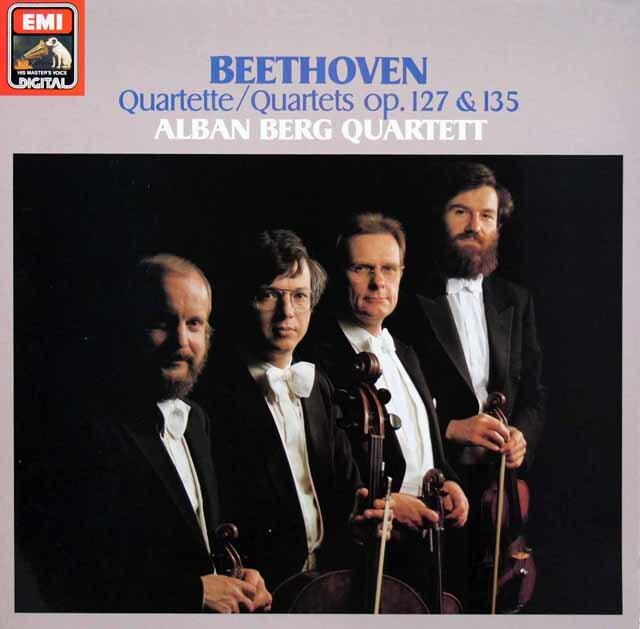 アルバン・ベルク四重奏団のベートーヴェン/弦楽四重奏曲第12&16番 独EMI 3333 LP レコード