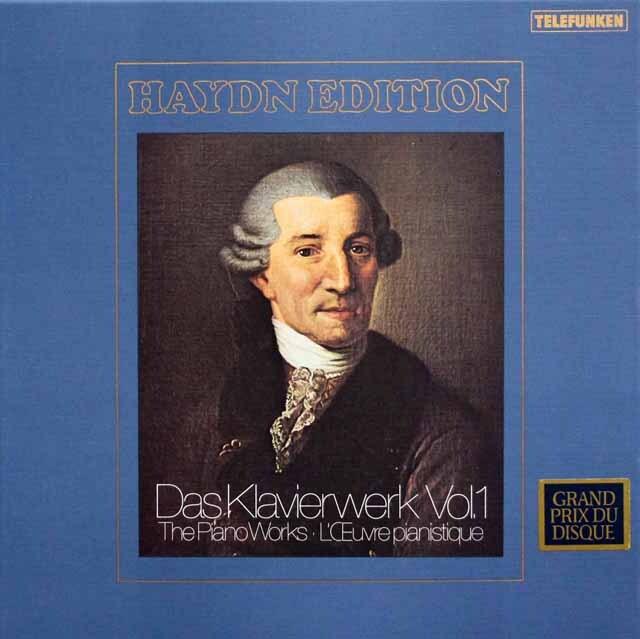 ブッフビンダーのハイドン/ピアノ・ソナタ 第1~34番 独TELEFUNKEN 3333 LP レコード