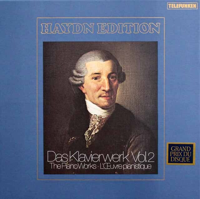 ブッフビンダーのハイドン/ピアノ・ソナタ 第35~53番 独TELEFUNKEN 3333 LP レコード