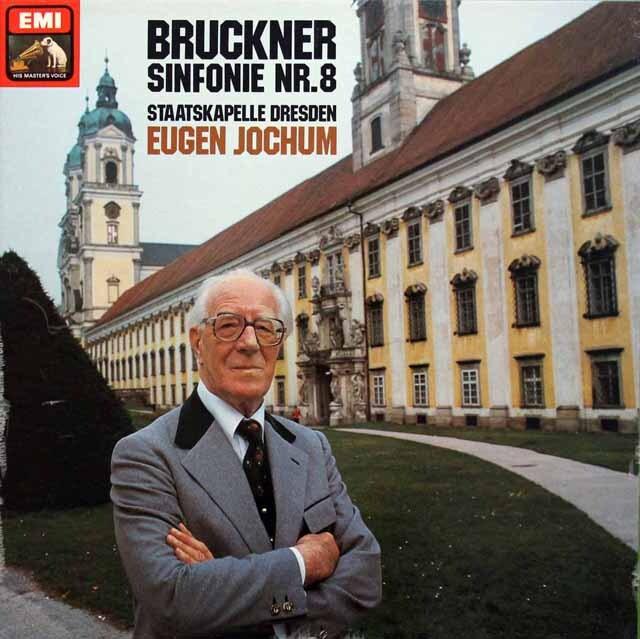 ヨッフムのブルックナー/交響曲第8番 独EMI 3334 LP レコード