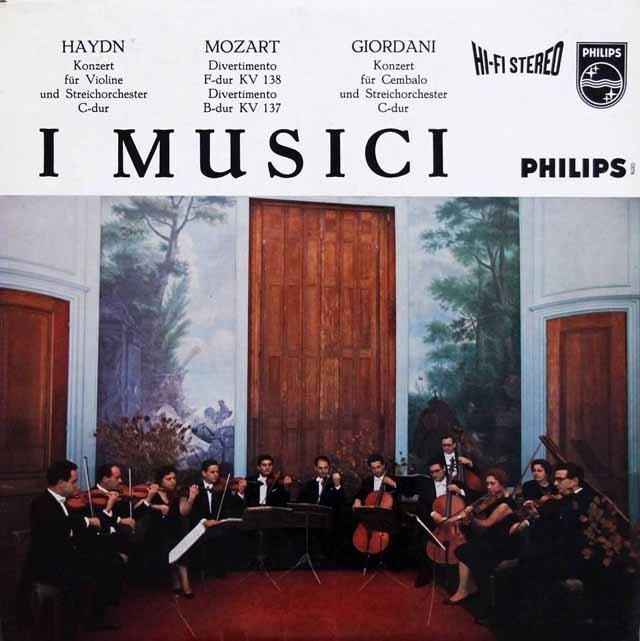 【オリジナル盤】 イ・ムジチのモーツァルト/ディヴェルティメントほか 蘭PHILIPS 3334 LP レコード
