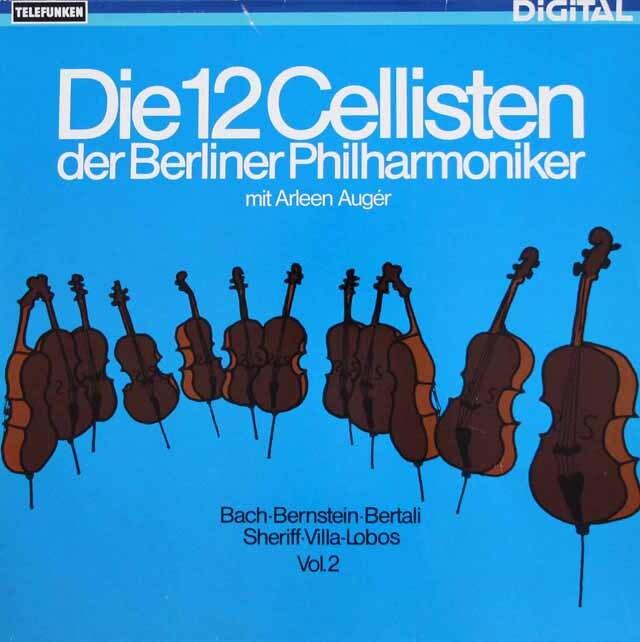 ベルリン・フィル12人のチェロ奏者たち vol.2  独TELEFUNKEN 3334 LP レコード