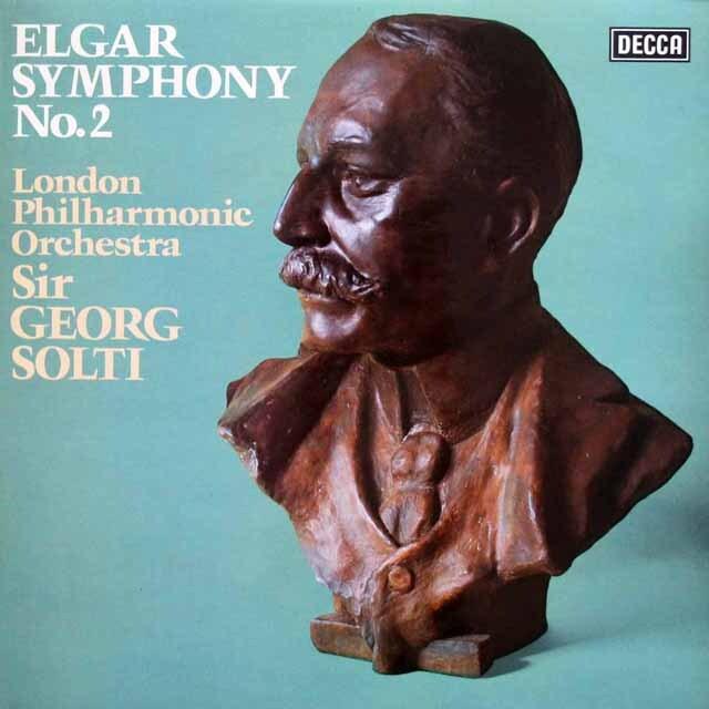 【オリジナル盤】 ショルティのエルガー/交響曲第2番 英DECCA 3334 LP レコード