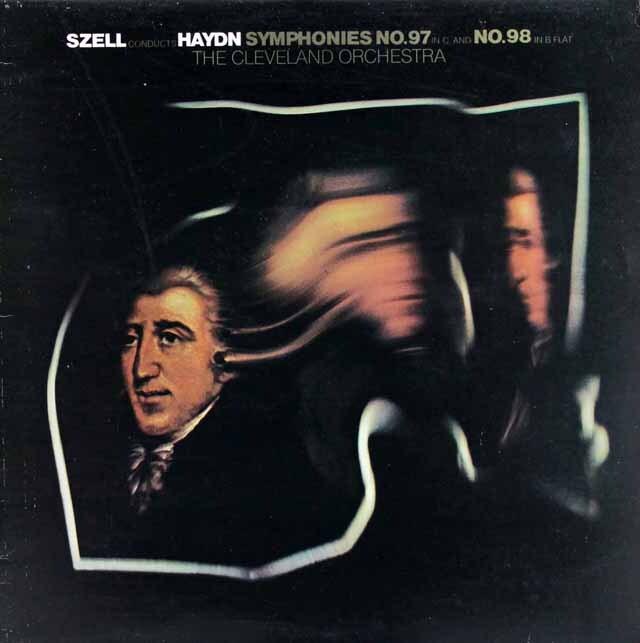 セルのハイドン/交響曲第97、98番 英CBS 3334 LP レコード
