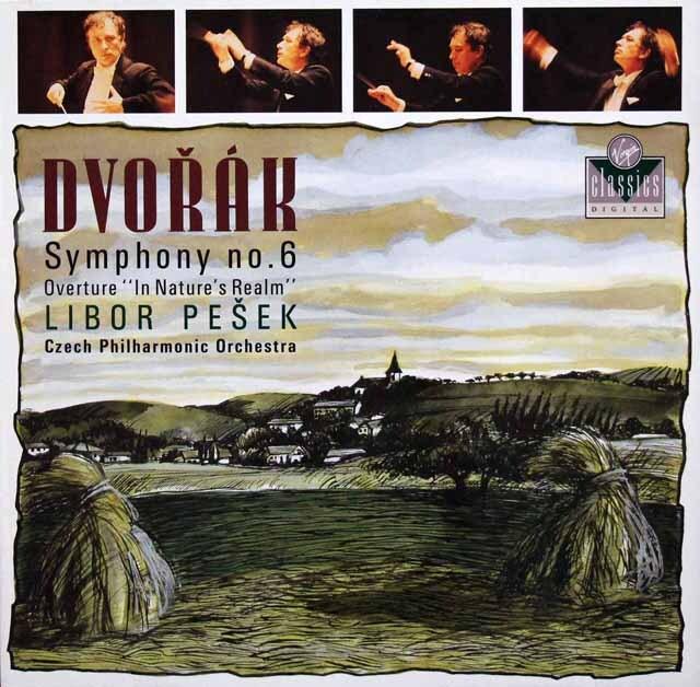 ペシェクのドヴォルザーク/交響曲第6番ほか 独Virgin 3334 LP レコード