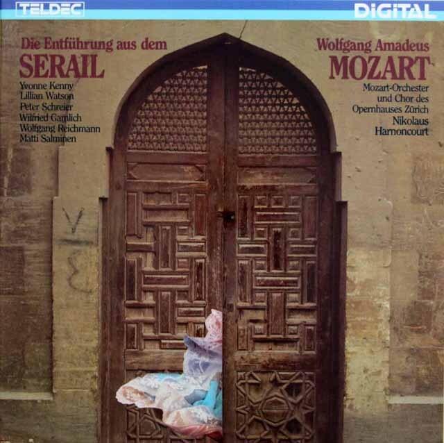 アーノンクールのモーツァルト/歌劇「後宮からの誘拐」全曲 独TELDEC 3334 LP レコード