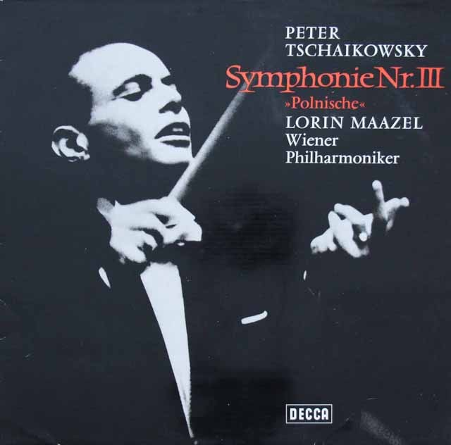 マゼールのチャイコフスキー/交響曲第3番「ポーランド」 独DECCA 3297 LP レコード