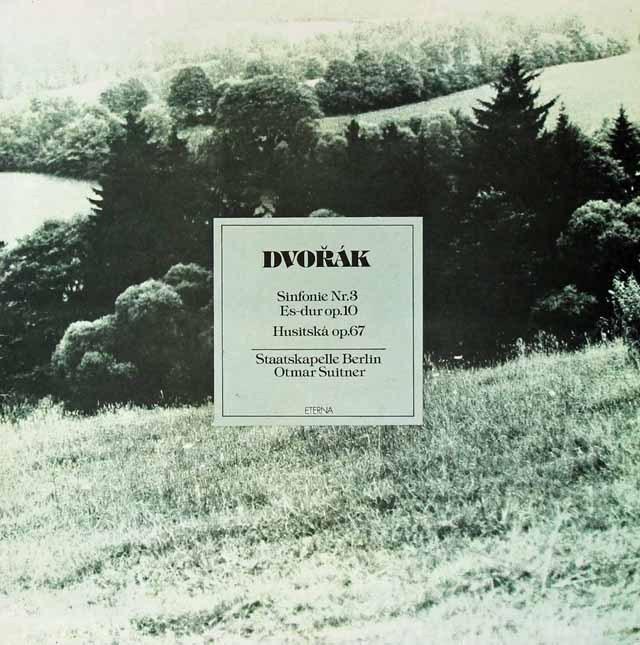 スウィトナーのドヴォルザーク/交響曲第3番ほか 独ETERNA 3296 LP レコード