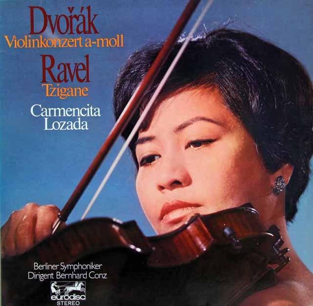 ロザーダ&コンツのドヴォルザーク/ヴァイオリン協奏曲ほか 独eurodisc 3296 LP レコード